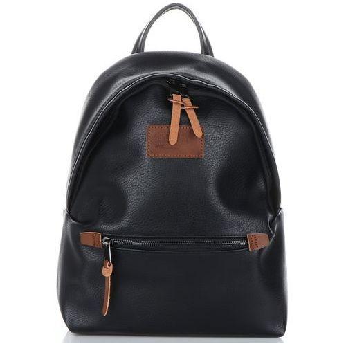 David jones Solidne plecaki damskie firmy czarne (kolory)