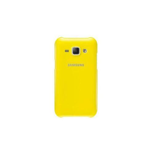 Samsung Obudowa tylna na telefon  pro galaxy j1 (ef-pj100b) (ef-pj100byegww) żółty