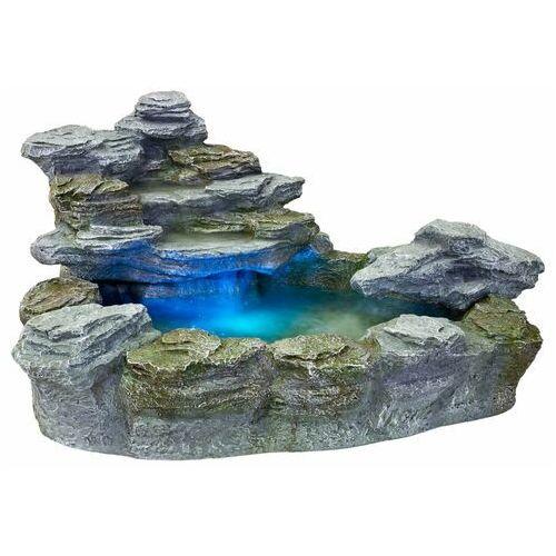 Kaskada fontanna ogrodowa olymp 5 kolorów światła marki Stilista ®