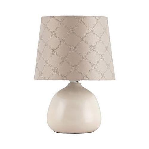 Rabalux Lampa lampka stołowa ellie 1x40w e14 beżowy 4380 (5998250343808)