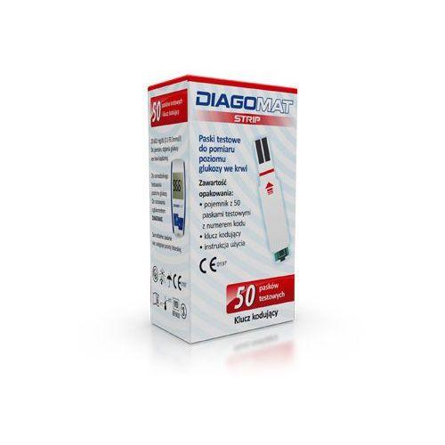 Diagnosis Diagomat strip test paskowy 50 pask