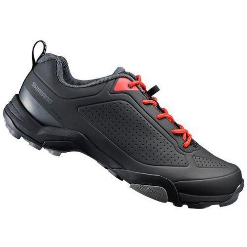 SHIMANO SH-MT300 - męskie trekkingowe buty rowerowe, kolor: Czarny