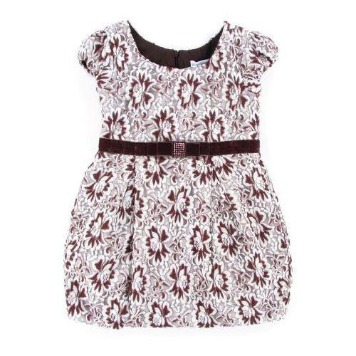 SUKIENKA KRÓTKI RĘKAW TKANINA (sukienka dziecięca)