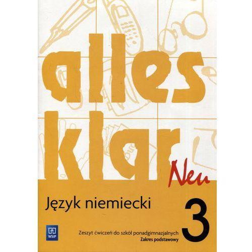 Alles Klar Neu 3. Zeszyt Ćwiczeń. Zakres Podstawowy (72 str.)