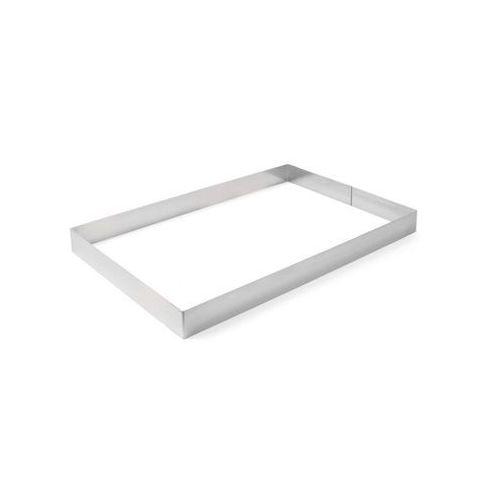 Rant piekarniczo-cukierniczy prostokątny 385 x 285 x 50 mm | HENDI, 512418