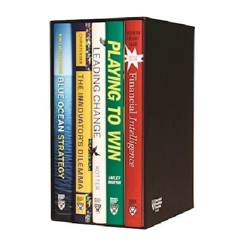 Harvard Business Review Leadership & Strategy Boxed Set, 5 Volumes