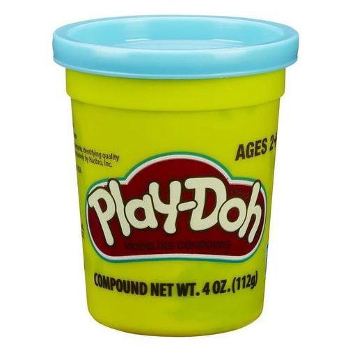 Hasbro playdoh tuba pojedyncza na tacce, niebieska
