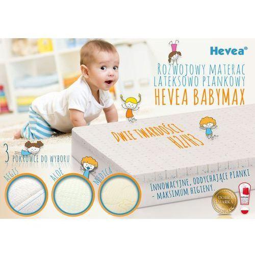 Materac piankowo-lateksowy baby max 120x60 + kocyk gratis! pozytywna opinia instytutu matki i dziecka! marki Hevea