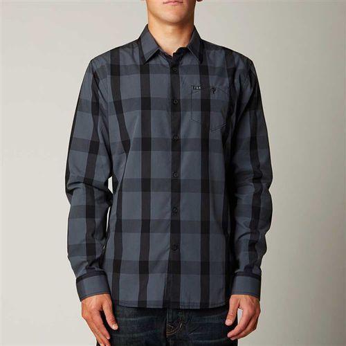koszule FOX - Erik Dusty Blue (157) rozmiar: 2X - sprawdź w Snowbitch