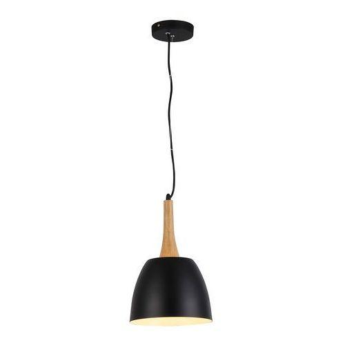 PRATO LAMPA WISZĄCA FLPR20BK (BLACK) AZZARDO, kolor czarny