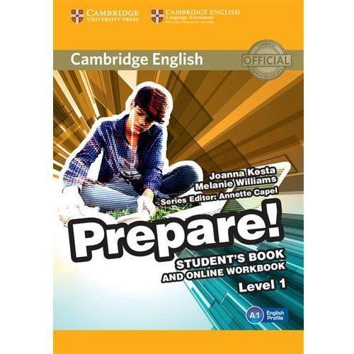 Cambridge English Prepare! 1 Student's Book - Wysyłka od 3,99 (9781107497153)