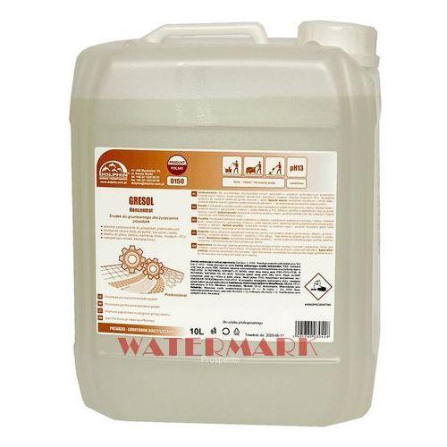 GRESOL gruntowne czyszczenie - koncentrat 5L usuwa ślady po gumie, sadzy