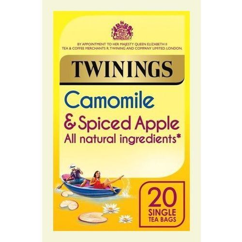 Twinings chamomile and spiced apple 20 teabags 25g marki R. twining and company limited,