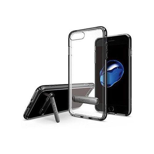 Spigen Etui ultra hybrid s apple iphone 7/8 jet black - czarny (8809565301049)