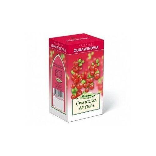 Herbapol lublin Herbata żurawinowa fix 2,5g x 20 saszetek