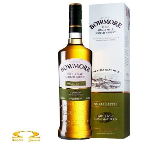 Whisky Bowmore Small Batch Bourbon Cask Matured 0,7l w kartoniku, E074-4782C