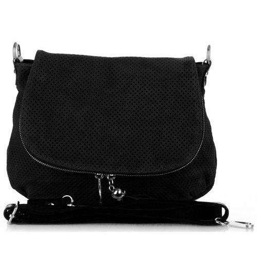 3c94b2633902a Włoska ażurowana torebka skórzana litonoszka czarna (kolory) marki Genuine  leather 219,00 zł Szukasz torebki, która pomoże Ci uczynić każdą stylizację  ...