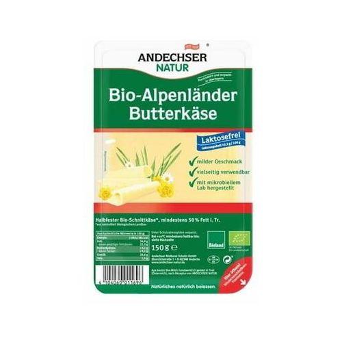 Ser alpejski w plastrach 50% BIO 150 g Andechser Natur
