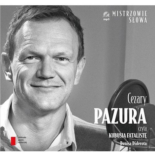 Kubuś Fatalista. Audiobook (płyta CD, format mp3), Agora