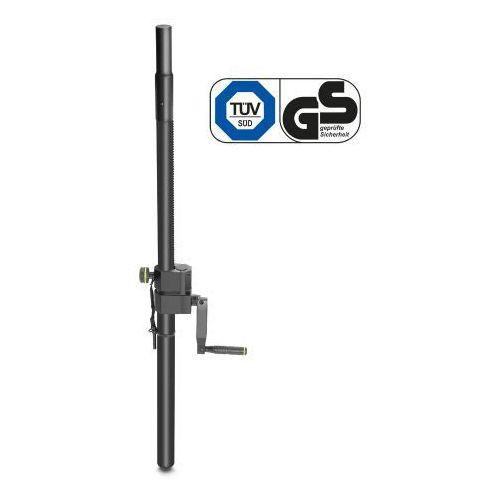 Gravity sp 2472 b regulowana tyczka z korbą do statywu głośnikowego, 35mm na m20, 1100 mm, czarna