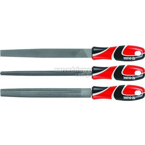 YATO Zestaw pilników do metalu 250 mm, 3 cz. (produkt wysyłamy w 24h) - produkt z kategorii- pilniki i polerki do paznokci
