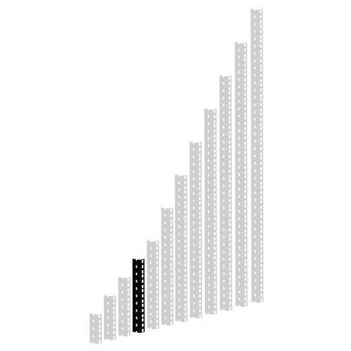 parts 61535 b 5 - szyna rack, czarna, 5u, wersja ciężka marki Adam hall