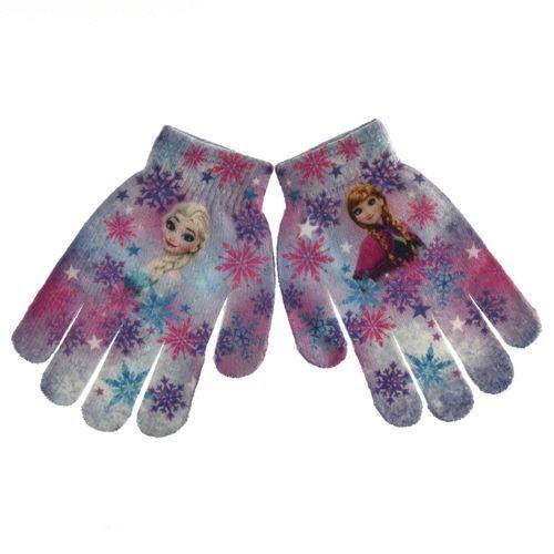 Rękawiczki dziecięce Frozen Kraina Lodu, kolor wielokolorowy