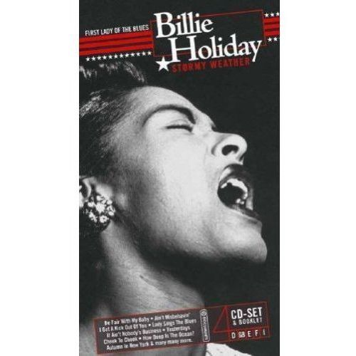 Membran Billie holiday - stormy weather (4cd) (4011222236616)