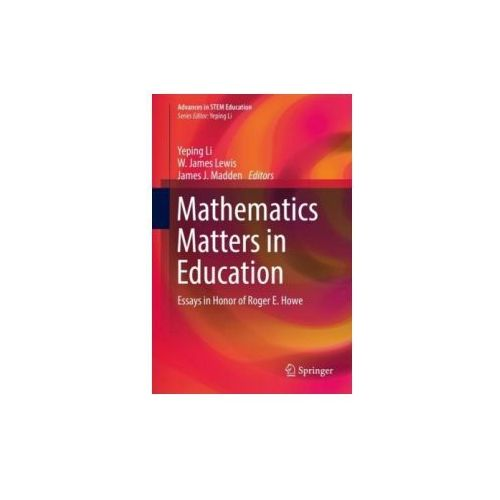 Mathematics Matters in Education (9783319614335)