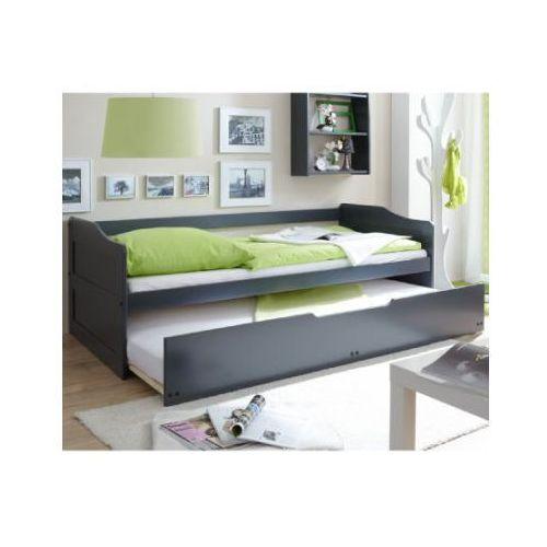 Ticaa łóźko dziecięce podwójne marianne kolor szary marki Ticaa kindermöbel