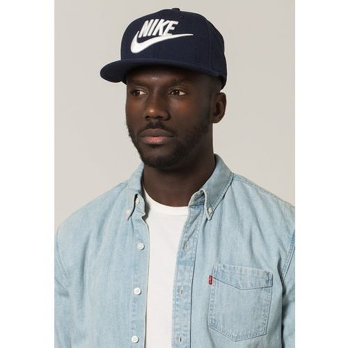 Nike Sportswear FUTURA TRUE Czapka z daszkiem obsidian/black/obsidian/white