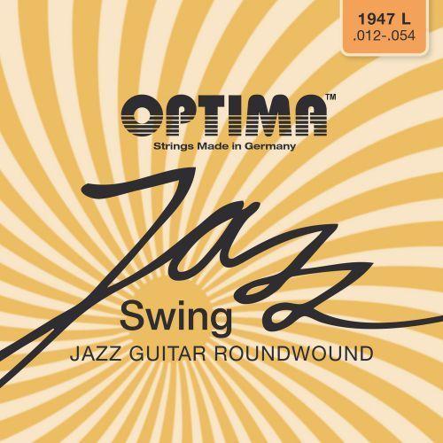 Optima 1947L (674727) Struny do gitary elektrycznej Seria Jazz Swing Round Wound Komplet