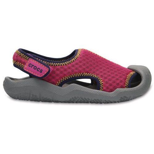 Crocs buty swiftwater sandal kids pink