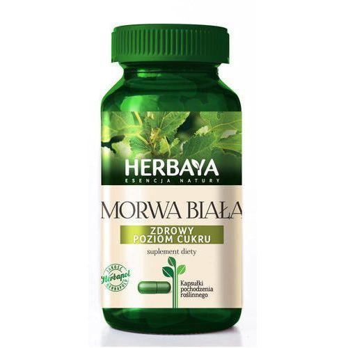Kapsułki HERBAYA Morwa biała prawidłowy metabolizm cukrów x 60 kapsułek