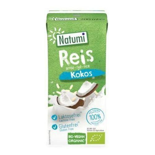 Napój ryżowo-kokosowy bezglutenowy bio 200 ml - natumi marki Natumi (napoje ryżowe, owsiane, orkiszowe, sojowe