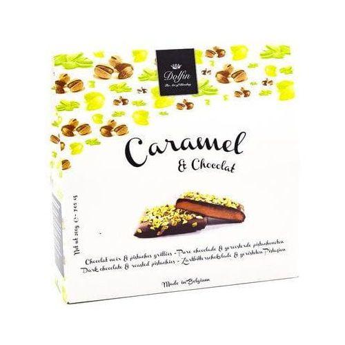 Bombonierka caramel & chocolat prażone pistacje dolfin 200g marki Dolfin the art of blending