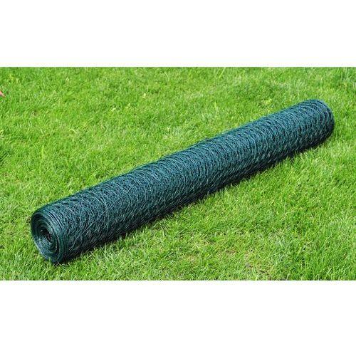 vidaXL Ogrodzenie, siatka ogrodowa (1x25m) 1,1 mm (przęsło i element ogrodzenia)