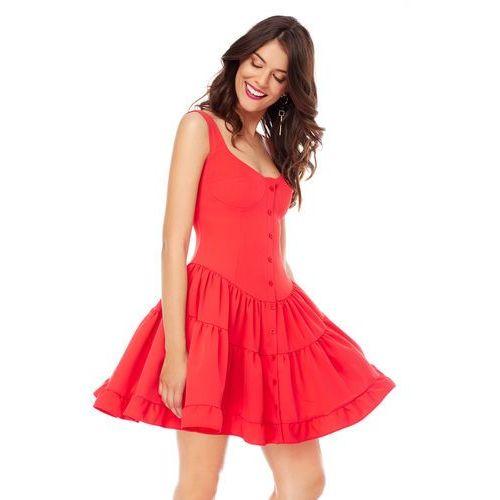Sukienka costa calma w kolorze czerwonym, Sugarfree