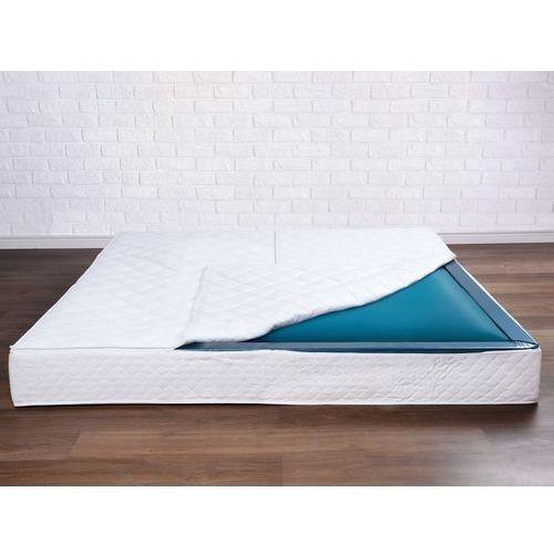 Beliani Materac do łóżka wodnego, mono, 200x200x20cm, średnie tłumienie