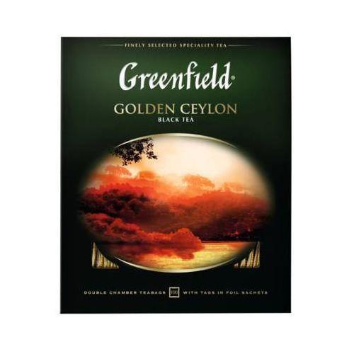 GREENFIELD 100x2g Golden Ceylon Herbata czarna Ekspresowa