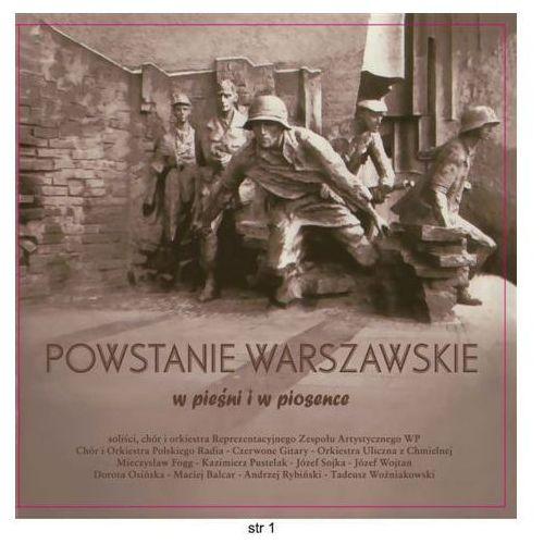 Powstanie Warszawskie w pieśni i piosence - CD