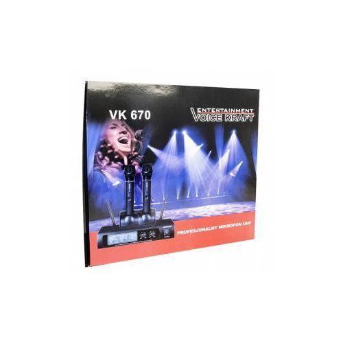 mikrofon vk670 - zobacz nasze 5 tys zestawów marki Voice kraft