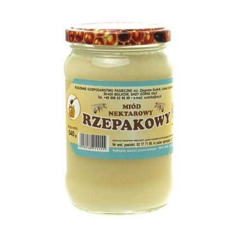 Miód rzepakowy nektarowy 500g Rodzinna Pasieka Sudnik