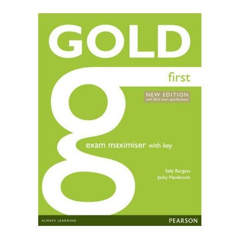 Gold First New Exam Maximiser with key Burgess Sally, Newbrook Jacky