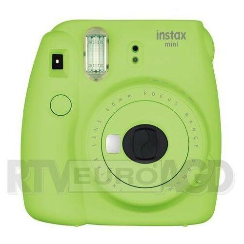 Fujifilm instax mini 9 (zielony) + wkłady instax mini 10 (5036321125257)