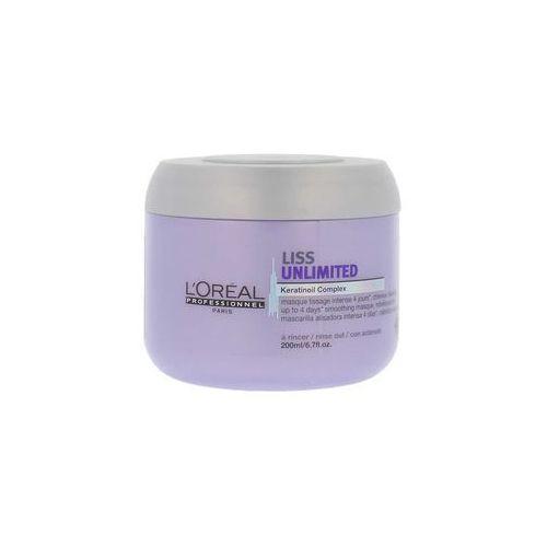 maska wygładzająca do włosów liss unlimited – 200 ml marki L'oréal