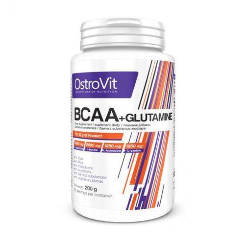 BCAA + Glutamine - BCAA + Glutamina OstroVit (Pojemność:: 200g)