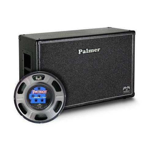 Palmer mi cab 212 rex kolumna gitarowa 2 x 12″ z głośnikami eminence cannabis rex, 8/16ohm