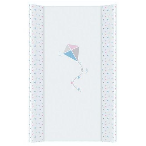 Mamo-tato przewijak na łóżeczko usztywniony 50x70 latawiec niebiesko-różowy