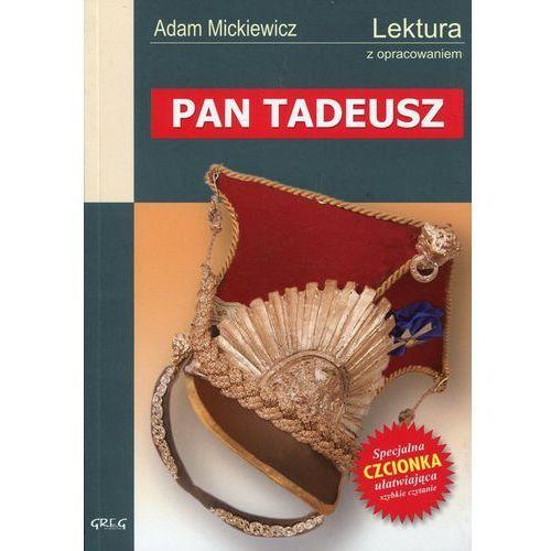 PAN TADEUSZ LEKTURA WYDANIE Z OPRACOWANIEM (2001)